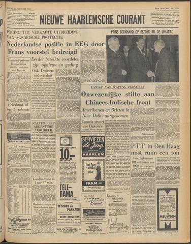 Nieuwe Haarlemsche Courant 1962-11-23