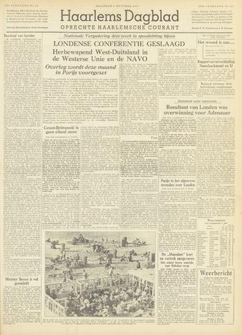 Haarlem's Dagblad 1954-10-04