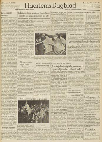 Haarlem's Dagblad 1947-11-13