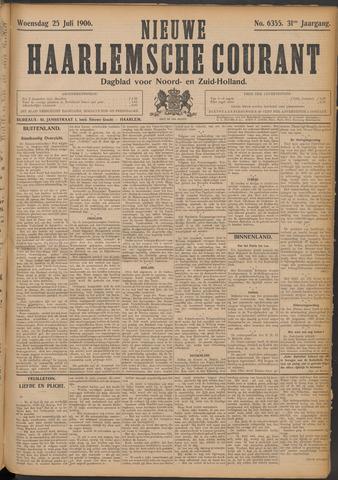 Nieuwe Haarlemsche Courant 1906-07-25