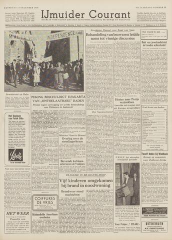 IJmuider Courant 1959-12-12