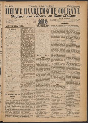 Nieuwe Haarlemsche Courant 1902-10-01
