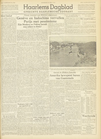 Haarlem's Dagblad 1954-05-25
