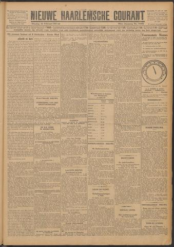 Nieuwe Haarlemsche Courant 1927-02-22