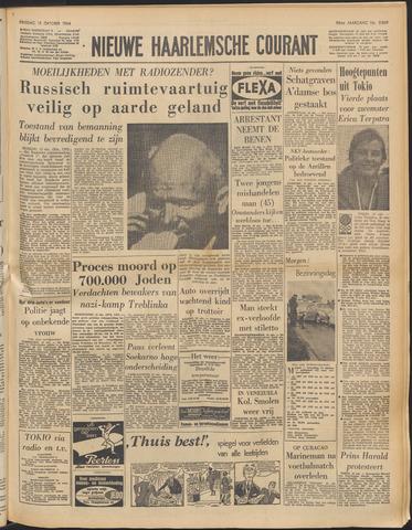 Nieuwe Haarlemsche Courant 1964-10-13