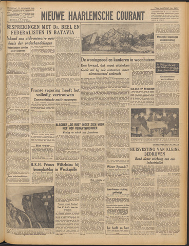 Nieuwe Haarlemsche Courant 1948-11-25