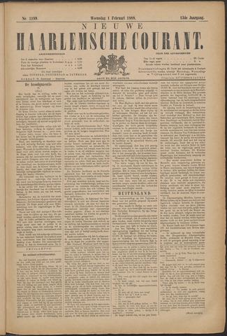 Nieuwe Haarlemsche Courant 1888-02-01