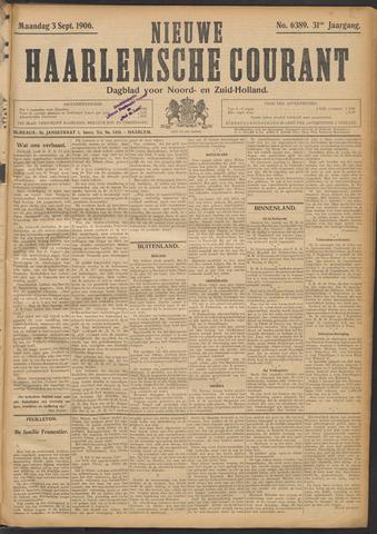 Nieuwe Haarlemsche Courant 1906-09-03