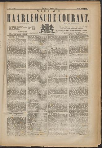 Nieuwe Haarlemsche Courant 1892-03-13