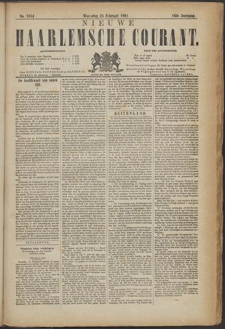 Nieuwe Haarlemsche Courant 1891-02-25