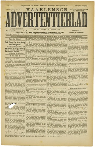 Haarlemsch Advertentieblad 1898-10-08