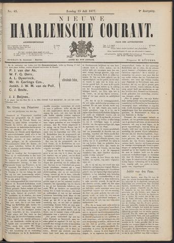 Nieuwe Haarlemsche Courant 1877-07-15
