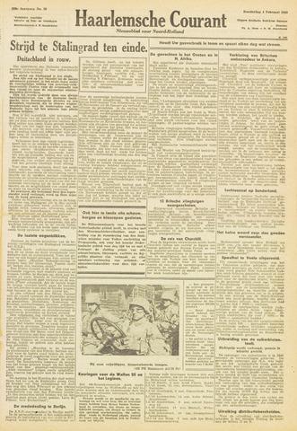 Haarlemsche Courant 1943-02-04