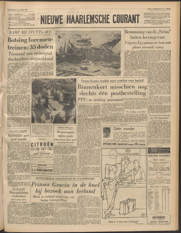 Nieuwe Haarlemsche Courant 1961-06-14