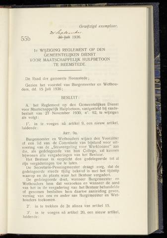 Raadsnotulen Heemstede 1936-09-24