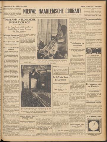 Nieuwe Haarlemsche Courant 1939-03-14
