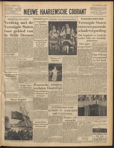 Nieuwe Haarlemsche Courant 1955-08-01