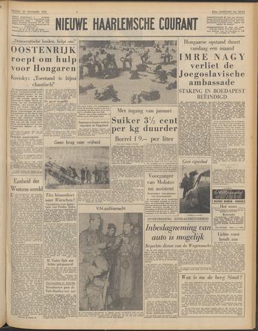 Nieuwe Haarlemsche Courant 1956-11-23