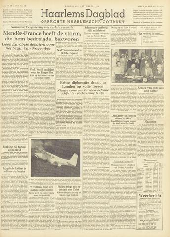 Haarlem's Dagblad 1954-09-01