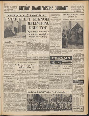 Nieuwe Haarlemsche Courant 1958-04-24