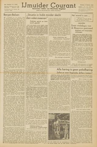 IJmuider Courant 1945-10-02