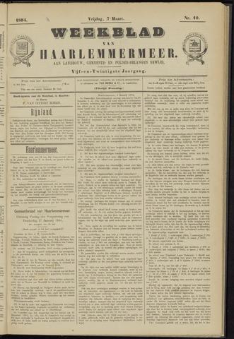 Weekblad van Haarlemmermeer 1884-03-07