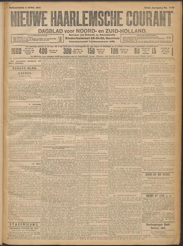 Nieuwe Haarlemsche Courant 1912-04-04