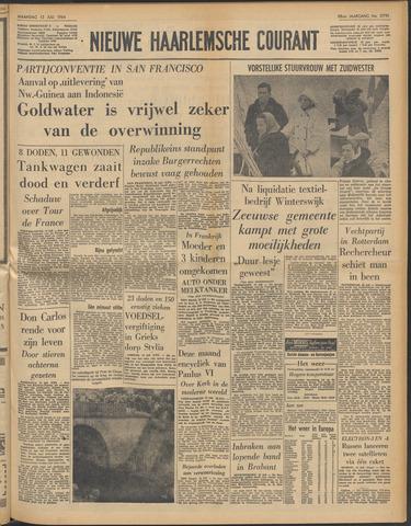 Nieuwe Haarlemsche Courant 1964-07-13
