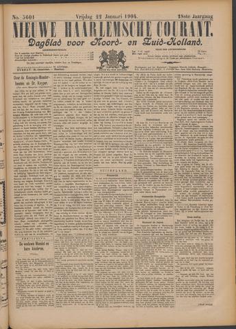 Nieuwe Haarlemsche Courant 1904-01-22