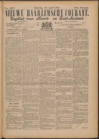 Nieuwe Haarlemsche Courant 1904-04-23