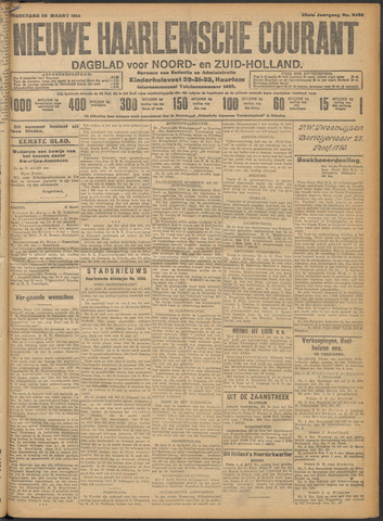 Nieuwe Haarlemsche Courant 1914-03-26