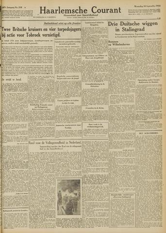 Haarlemsche Courant 1942-09-16