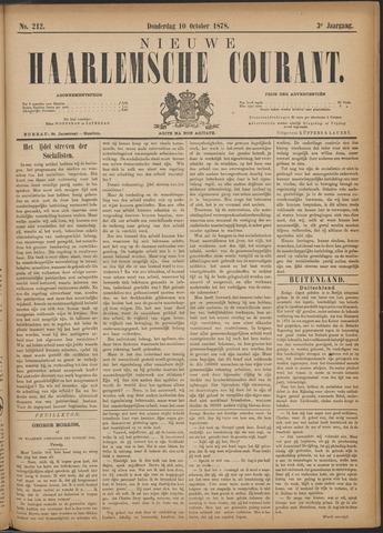 Nieuwe Haarlemsche Courant 1878-10-10