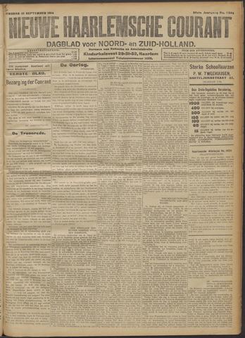 Nieuwe Haarlemsche Courant 1914-09-15