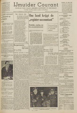 IJmuider Courant 1939-04-25