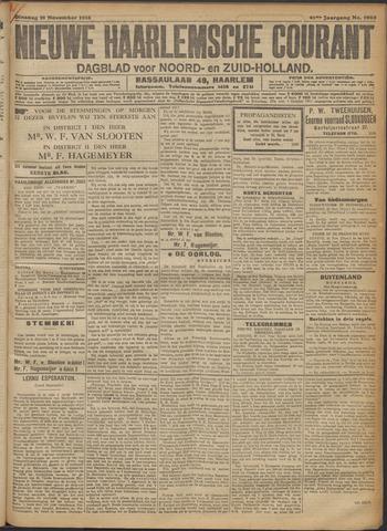 Nieuwe Haarlemsche Courant 1916-11-21