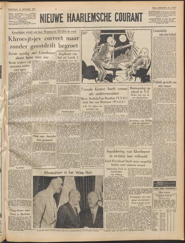 Nieuwe Haarlemsche Courant 1959-09-16