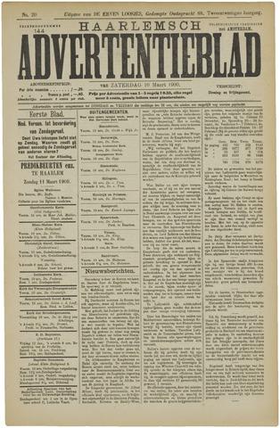 Haarlemsch Advertentieblad 1900-03-10