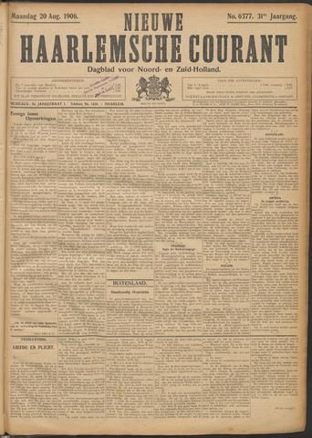 Nieuwe Haarlemsche Courant 1906-08-20