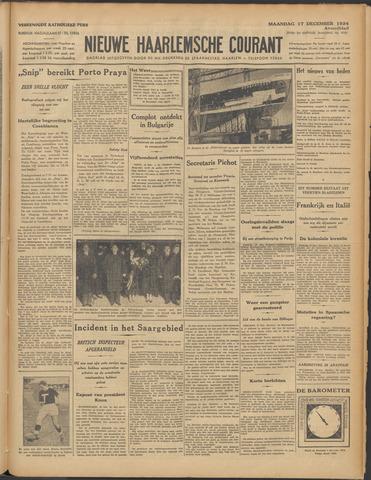 Nieuwe Haarlemsche Courant 1934-12-17