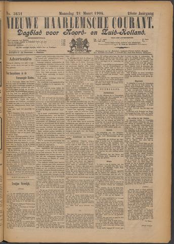 Nieuwe Haarlemsche Courant 1904-03-21