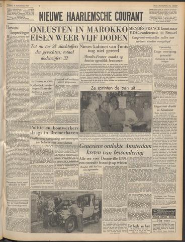 Nieuwe Haarlemsche Courant 1954-08-06