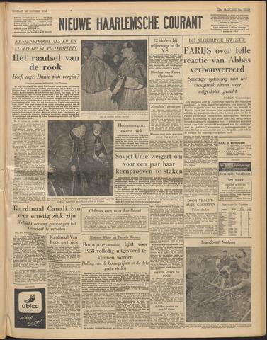 Nieuwe Haarlemsche Courant 1958-10-28