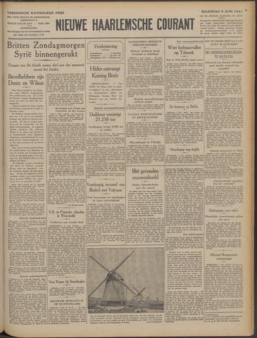 Nieuwe Haarlemsche Courant 1941-06-09
