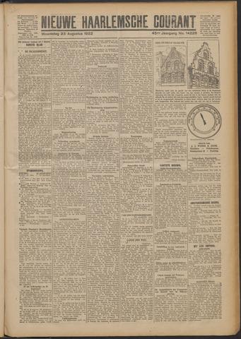 Nieuwe Haarlemsche Courant 1922-08-23