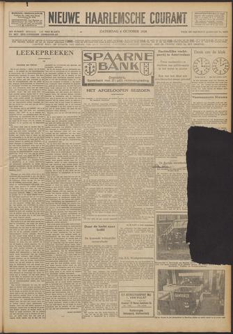 Nieuwe Haarlemsche Courant 1928-10-06