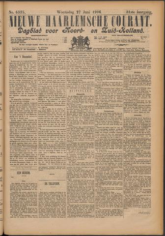Nieuwe Haarlemsche Courant 1906-06-27