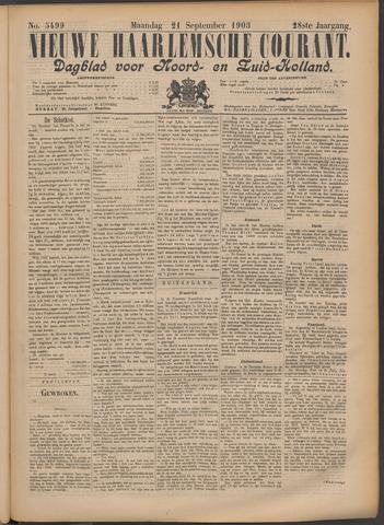 Nieuwe Haarlemsche Courant 1903-09-21