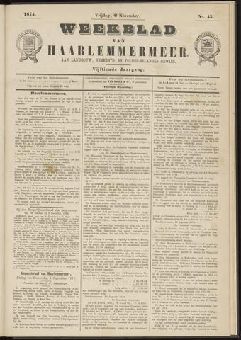 Weekblad van Haarlemmermeer 1874-11-06