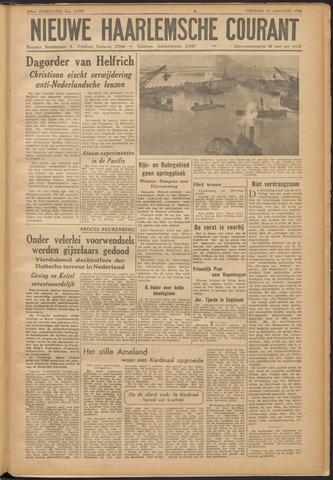 Nieuwe Haarlemsche Courant 1946-01-25